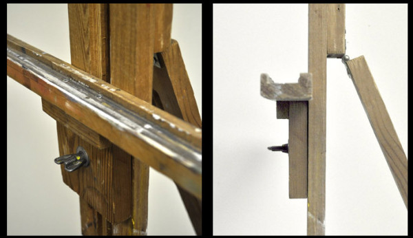 single-mast easel details 3 e