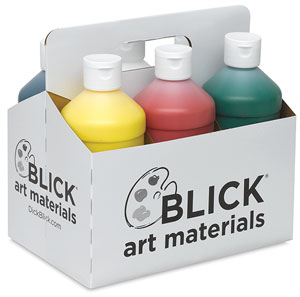 Blick acrylic pint set of 6
