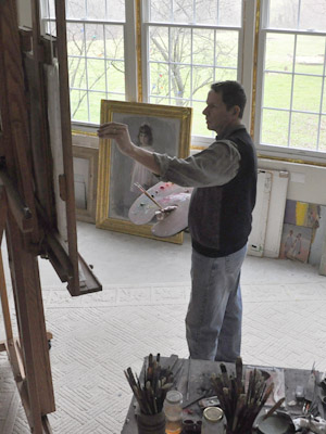 Tim at easel 6254 e