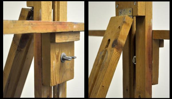 single-mast easel details 1 e