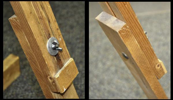 single-mast easel details 2 e